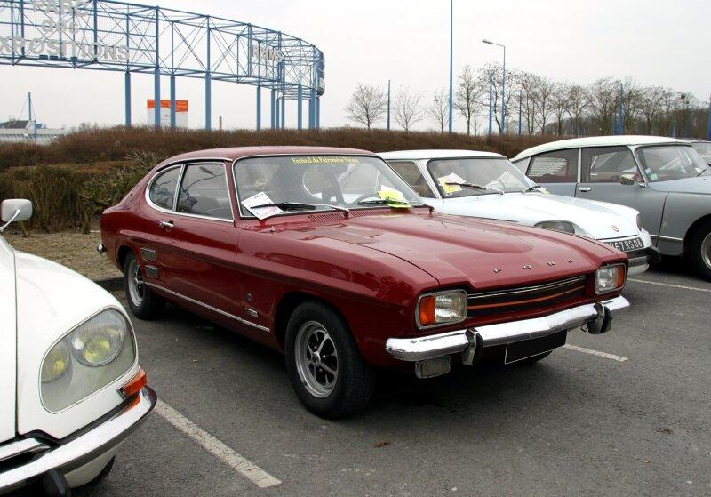 Ford capri 1700 GT (23ème Salon Champenois du véhicule de collection) 01