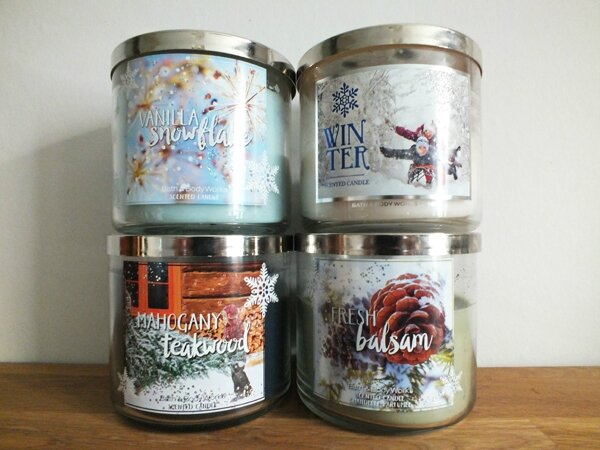 1 Mes indispensables de l'hiver Ma Bulle Cosmeto Bougies Bath&Body Works