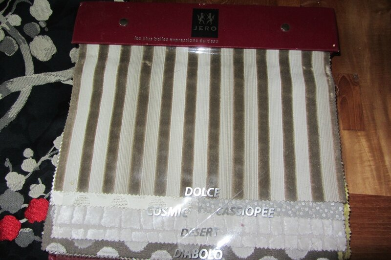 Tissu Jero côté sièges
