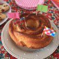 Yes ! on a cake shaped like a bunny.