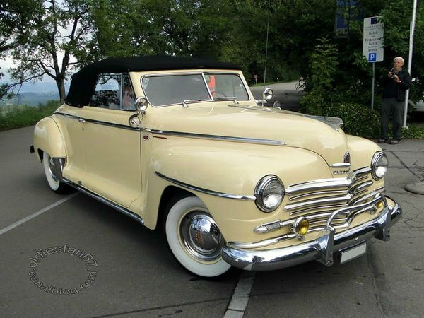 plymouth special deluxe convertible 1946 1948 a