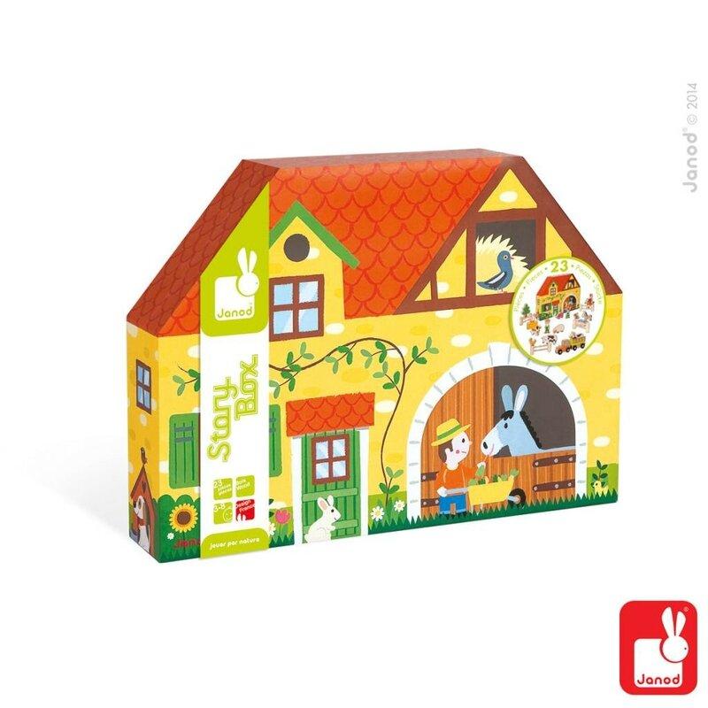 Janod - story box ferme