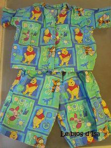 pyjama-winnie l'ourson