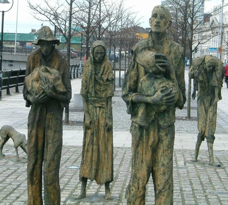 irish-famine-dublin