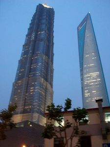 photo Jin Mao Tower et World Financial Tower