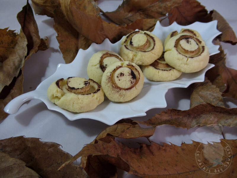 Biscuits champignons