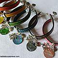 Bracelet de maîtresse en cuir - 22 €