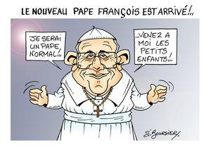 nouveau pape françois web
