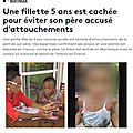 Martinique: une mère obligée de rendre sa fille de 5 ans à un père qu'elle accuse d'attouchements