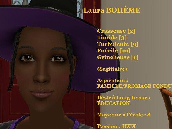 Laura BOHEME