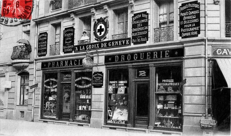 CPA Belfort Café La Bourse 1905-10