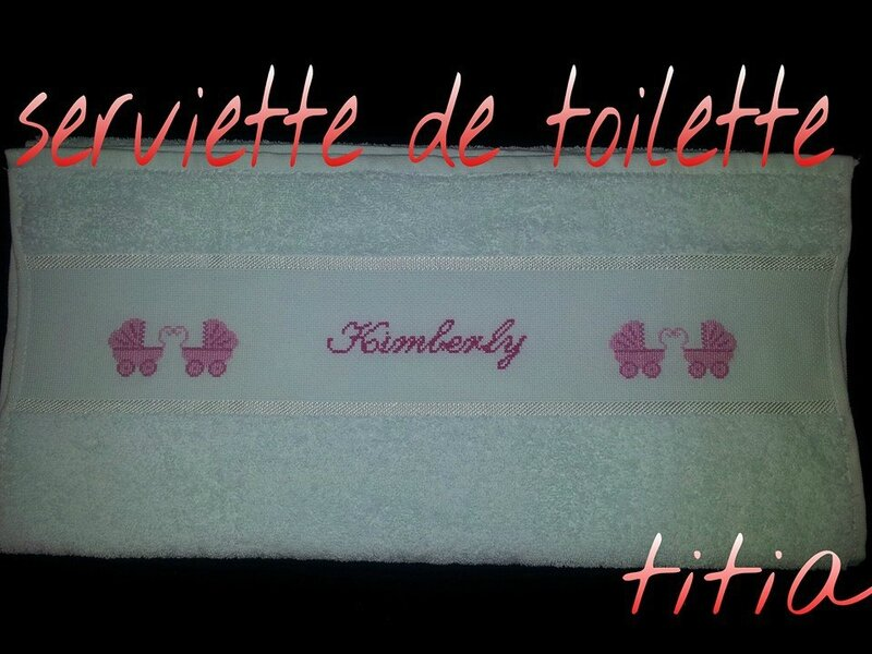 serviette de toilette kimberly