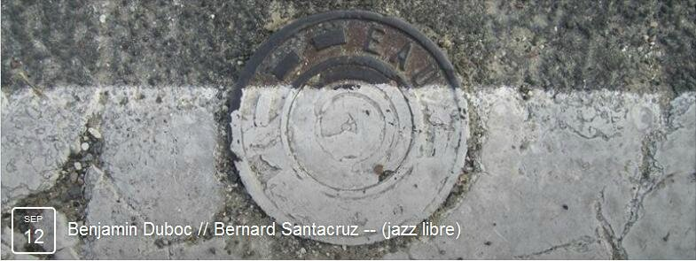 Duboc - Santacruz 12 sept 15 au Milord