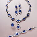A highly important suite of kashmir, burmese, sri lankan sapphire and diamond jewellery, by harry winston