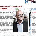 Municipales 2020 rouen: les militants de la droite locale choisissent jean-françois bures