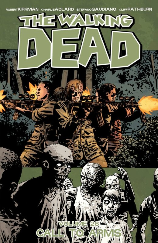 walking dead vol 26 call to arms TP