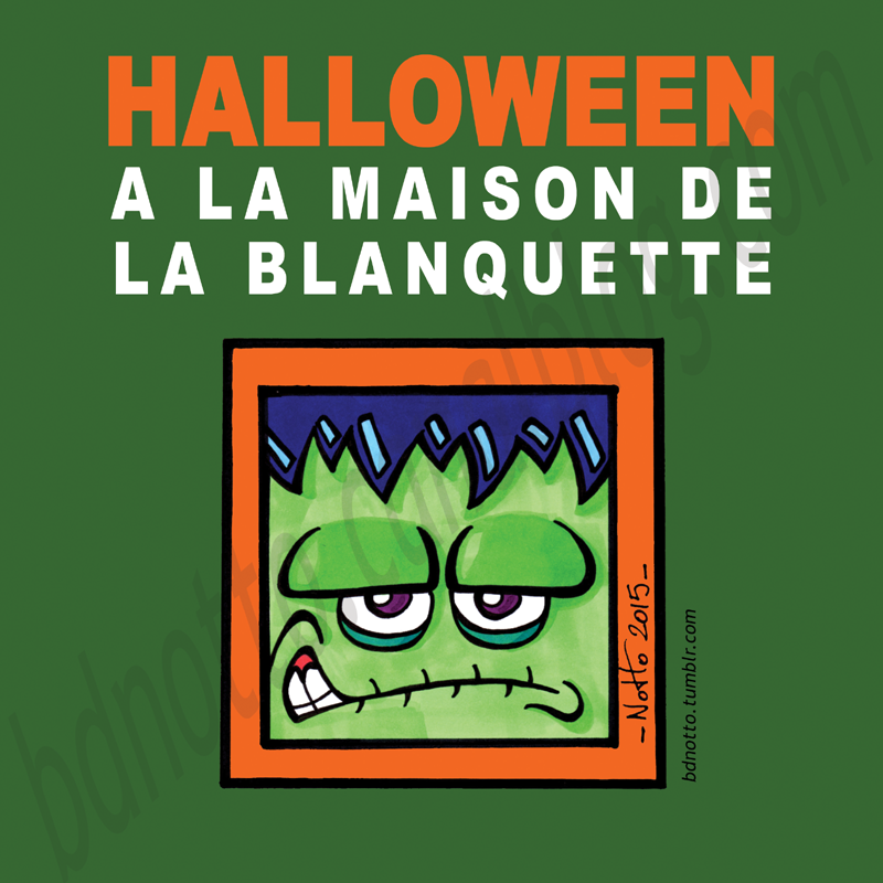 10 - 2015 - Halloween Maison Blanquette TAG