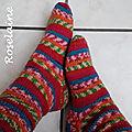 Roselaine cho7 sock yarn venus 3