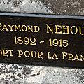 Nehou raymond (reuilly) + 26/11/1915 valréas (84)