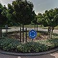 Rond-point à maaseik (belgique)