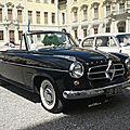 Borgward isabella ts hansa 1500 cabriolet 1956