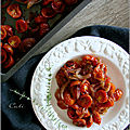 Tomates cerises & oignons confits