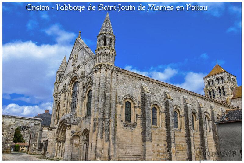 Ension - l'abbaye de Saint-Jouin de Marnes en Poitou