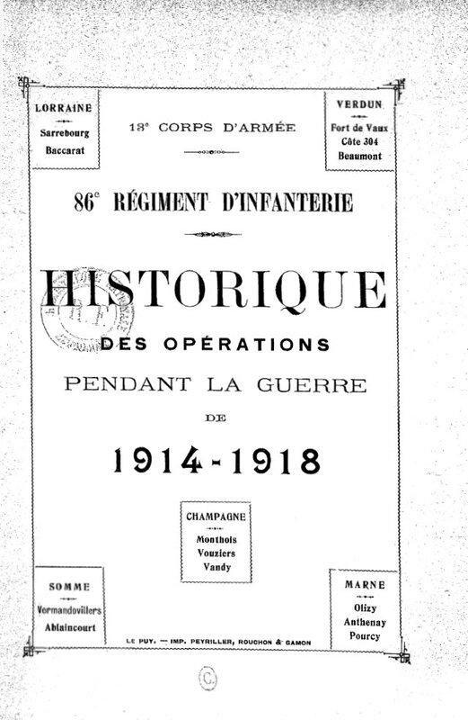 Historique 86e RI (1)