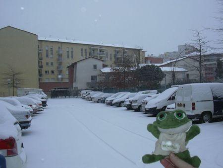 photo de brOOky sous la neige 5 - Résidence Rive Gauche - 5 fév 2012