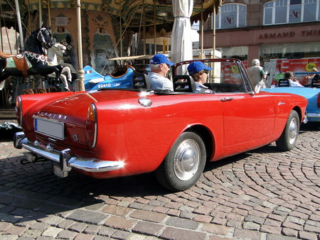 SUNBEAM Alpine Convertible Festival Automobile de Mulhouse 2009 2