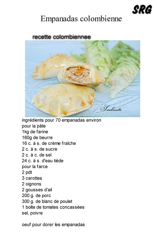 Empanadas colombienne (page 1)