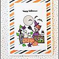 Happy halloween! des bonbons ou une carte!