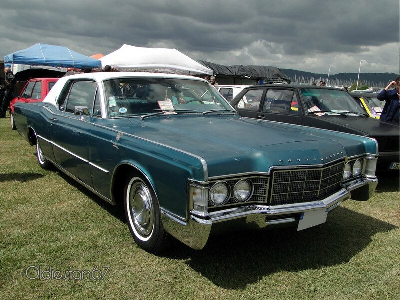 lincoln continental hardtop coupe 1969 a