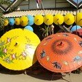 Echope avec ombrelles