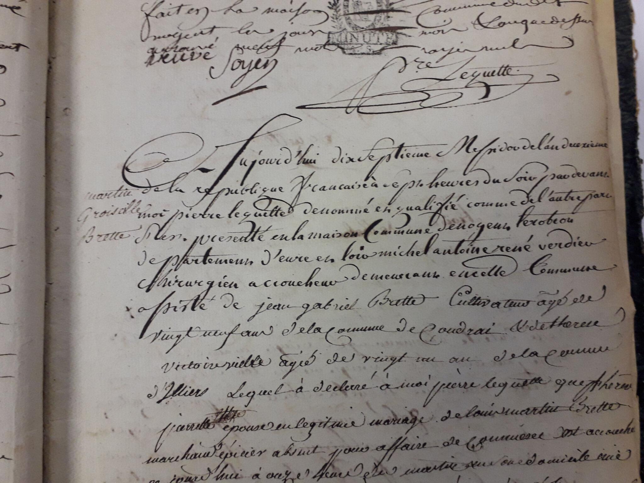 5 Juillet 1794 : Nogent et Groseille.