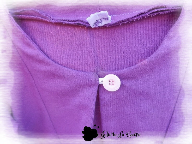 Aura et Nina sweat purple2