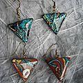 BO triangles floraux