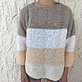 Pull à rayures en phil light so romantic ! # 2