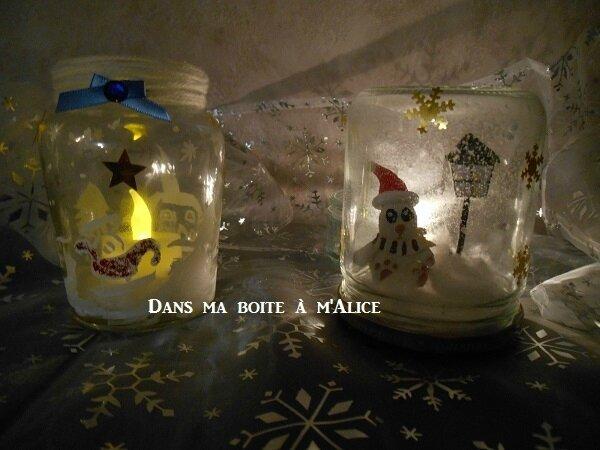 Boules à neige de Noël #Projet D.I.Y. 21