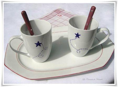 Mugs mauves