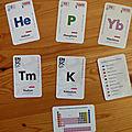 Chemline - les éléments chimiques 6