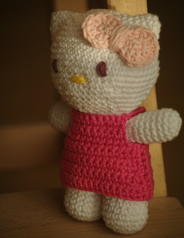 crocheter hello kitty