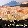 Ronde interblog #24 - petit pain au poulet
