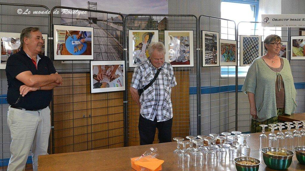 """Vernissage expo photo """"détissages"""" à Saint-Thélo"""