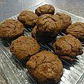 Cookies au beurre de cacahuète et cacao