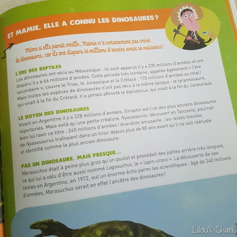 50 questions loufoques sur les dinosaures Fleurus