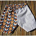 Shorts de p'tit boys