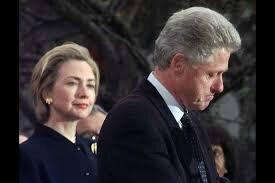 Hillary Clinton Behind Bill