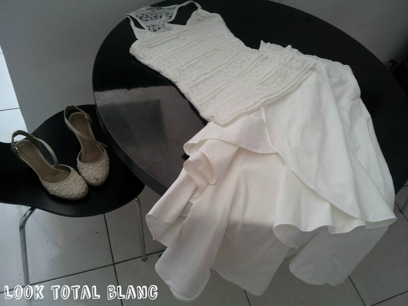 Look total blanc - Nouvel An