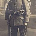 L'uniforme allemand de 1914.